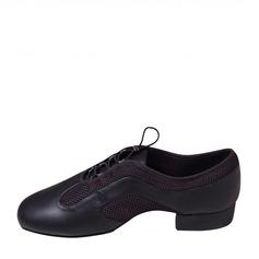 Menn Lær Flate sko Jazz Dansesko