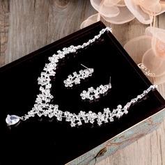 Bonito Liga/Zircon Senhoras Conjuntos de jóias