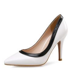 De mujer Tela Tacón stilettos Salón Cerrados zapatos