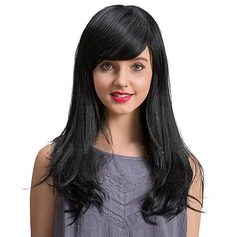 4A Nicht remy Gerade Menschliches Haar Capless Perücken