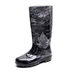 Men's PVC Rain Boats Casual Men's Boots (261172559)
