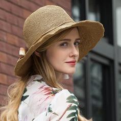 Señoras' Pretty poliéster con Flor Disquete Sombrero