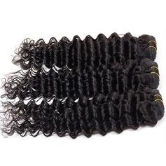 4A Non remy Profond les cheveux humains Tissage en cheveux humains (Vendu en une seule pièce) 100 g
