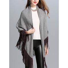Kaldt vær Polyester Poncho