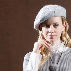 Ladies' Glamourous/Romantic/Vintage Rabbit Hair Beret Hat