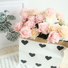 """Rose vine/Simple/Classic """"Beautiful Flower"""" Cloth Artificial Flowers (set of 4)"""