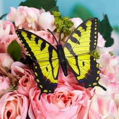 Красивая пластиковые бабочка/Декоративные аксессуары (набор из 6)
