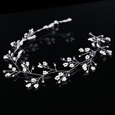 Glamorosa Crystal/Aleación/La perla de faux Diademas (Se venden en una sola pieza)
