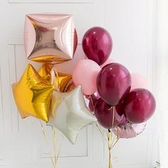 Clássico Colorido Aluminium Foil Balão (conjunto de 13)