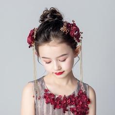 Slitina/Krystal S Květiny Čelenky (Prodává se jako jeden kus)