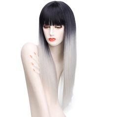 Straight Synthetic Hair Capless Wigs 240g
