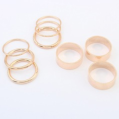 Fashional Alloy Ladies' Fashion Rings (Set of 9)