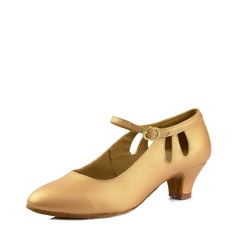 Women's Leatherette Heels Sandals Latin Modern Ballroom Dance Shoes