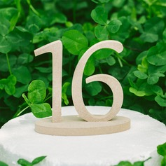 Nummer PVC Table Number (Set van 10) (118087084)