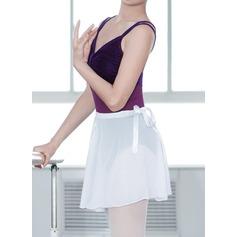De mujer Ropa de danza Seda artificial Ballet Entrenamiento Leotardos