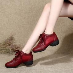Vrouwen Kunstleer Dans Sneakers modern Jazz Dans Sneakers Dansschoenen