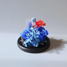 Gentil Beau Fleur en soie Fleurs artificielles