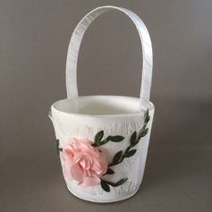 Nice Flower Basket With Flower