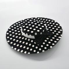 Senhoras Mais quente/Vintage Tecido com Bowknot Chapéu de Coco / Cloche de Chapéu/Kentucky Derby Bonés
