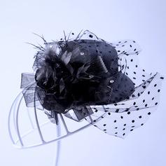 Ladies Elegant Tulle Hats