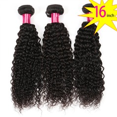 16 inch 8A Brazilian Virgin Human Hair Kinky Curly(1 Bundle 100g)