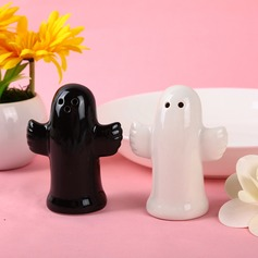 Gulligt djur Keramik Salt & Pepparkar (Sats om 2 st)
