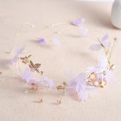 Senhoras Moda Cristal/Liga Tiaras com Cristal (Vendido em uma única peça)