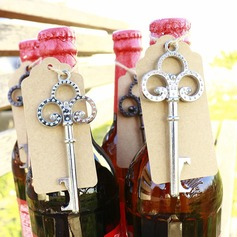 "Chrome ""Key to My Heart"" Bottle Opener"
