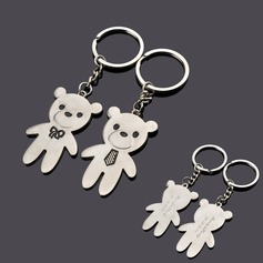 Personalized Bear Zinc Alloy Keychains