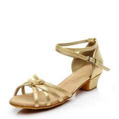 Frauen Kunstleder Flache Schuhe Latin Tanzschuhe
