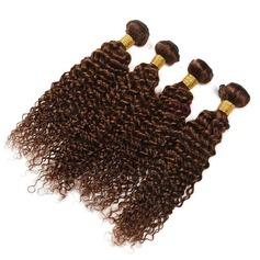 6A Jungfrau / Remy Lockig Menschliches Haar Geflecht aus Menschenhaar (Einzelstück verkauft) 100g