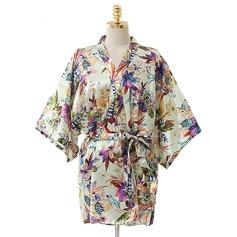 Brud Brudtärna Blomsterrockar Kimono kläder med - Kort