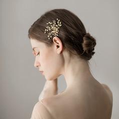 Dame Efterspurgte Imiteret Pearl Hårnåle med Venetiansk Perle (Sælges i et enkelt stykke)