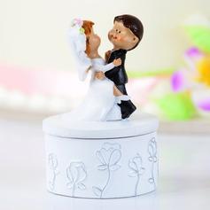 Пары танцы смола Свадьба Фигурки для торта