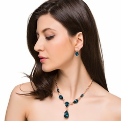 Gorgeous Alloy With Crystal Women's/Ladies' Jewelry Sets