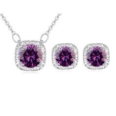Luminoso Liga Zircon Senhoras Conjuntos de jóias