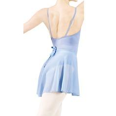 Donna Abbigliamento danza Chiffona Balletto Prova Gonne