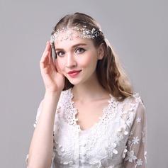 Señoras Estilo de la vendimia Crystal/Aleación Tiaras