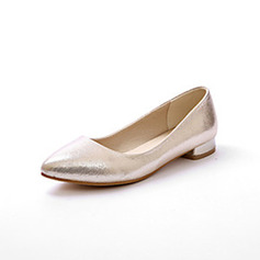 Women's Cloth Flat Heel Flats Closed Toe shoes
