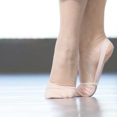 Women's Leatherette Flats Ballet Dance Shoes