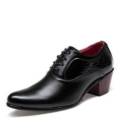 Men's Leatherette Casual Men's Oxfords