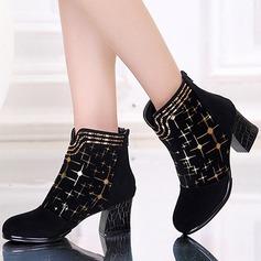 Naisten Mokkanahka Kengät Tanssikengät Tanssikengät
