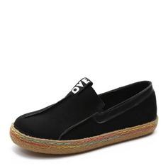 Donna Camoscio Senza tacco Ballerine Punta chiusa con Con risvolto scarpe