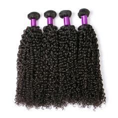 4A Kinky Curly les cheveux humains Tissage en cheveux humains (Vendu en une seule pièce)