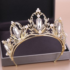 Beautiful Rhinestone/Alloy Tiaras (Sold in single piece) (042207494)