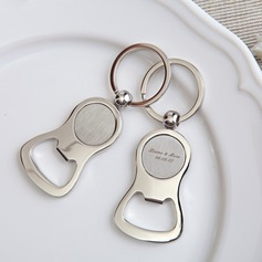 Personalized Alloy Keychains (Set of 4)