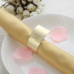 Персонализированные цинковый сплав кольца для салфеток