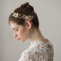 Dame Glamourøse Legering Pandebånd med Venetiansk Perle (Sælges i et enkelt stykke)