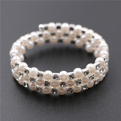 Beautiful Alloy/Imitation Pearls With Imitation Pearls Ladies' Bracelets