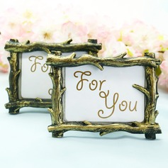 Rustic Tree Branch Place Card Picture Frame Favors (Sold in a single piece)